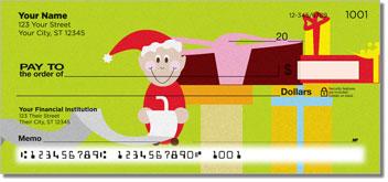 Jolly Elf Personalized Checks