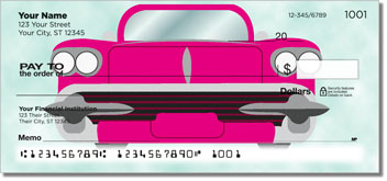 Car Grille Personalized Checks