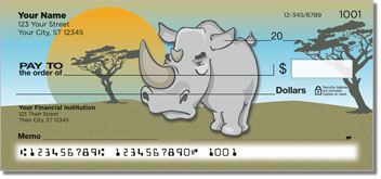 Jungle Buddy Personalized Checks