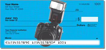 Cool Camera Personalized Checks