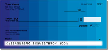 Color Change Personalized Checks