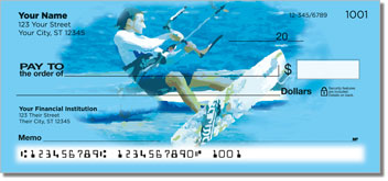 Kite Surfing Personalized Checks