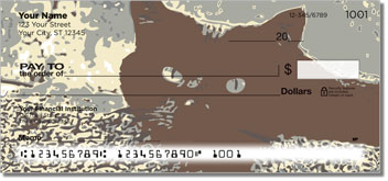 Black Cat Personalized Checks