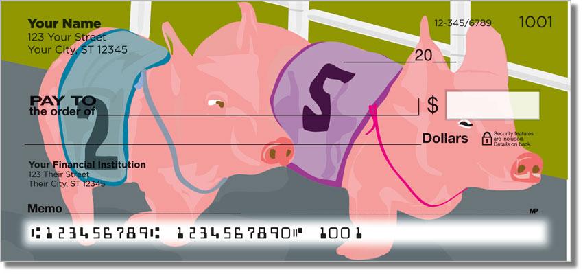 Pig Racing Personal Checks