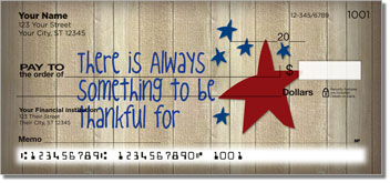 Country Comfort Personalized Checks