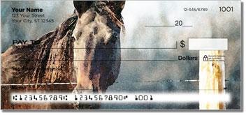 Country Horse Theme Checks