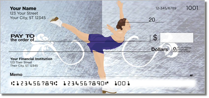 Figure Skater Personal Checks