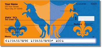 Proud Unicorn Personalized Checks
