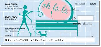 Paris Fun Personalized Checks