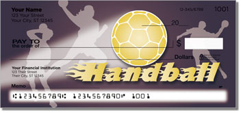 Handball Personalized Checks