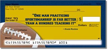 Knute Rockne Theme Checks