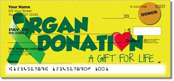 Organ Donation Personalized Checks