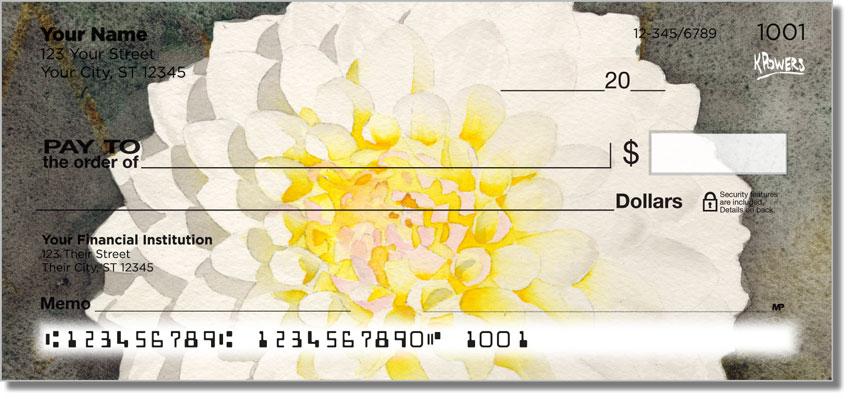 Floral Series 5 Personal Checks