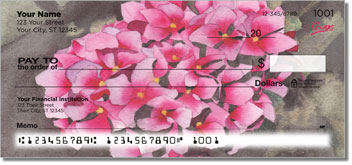 Floral Series 5 Personalized Checks