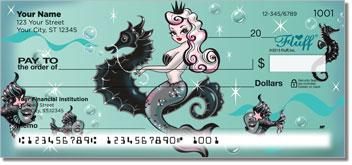Vintage Mermaid Personalized Checks