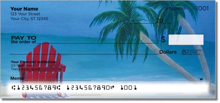 Beach Art Personal Checks