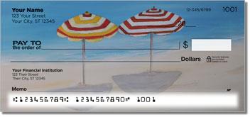 Beach Art Theme Checks