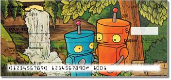 Robots In Love Design Checks