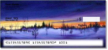 Misty Tree Personalized Checks