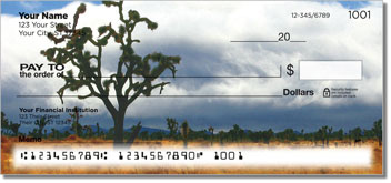 Bulone Desert Personalized Checks