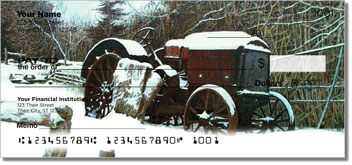 Abandoned Vehicle Personalized Checks