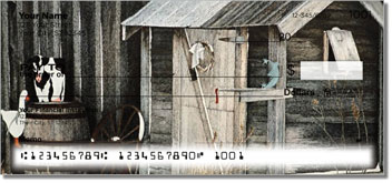 Outhouse Personalized Checks