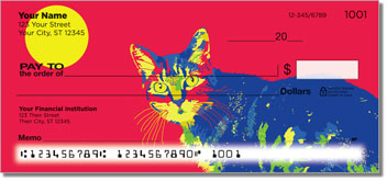 Meowza Personalized Checks