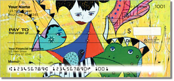 Colorful Stories Personalized Checks