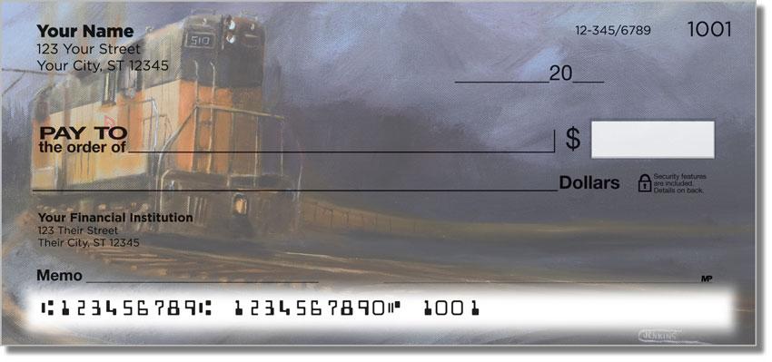 Railroads West Personal Checks