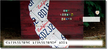 California License Plate Theme Checks