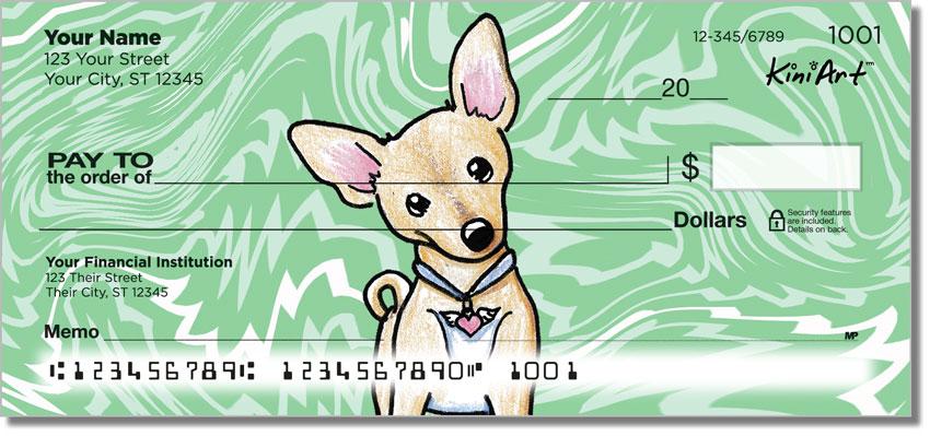 Chihuahua Series 1 Personal Checks
