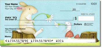 Mouse and Bunny Theme Checks