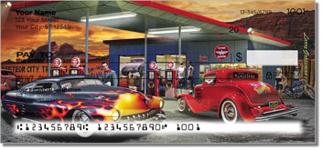 Gas Station Personalized Checks