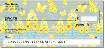 Mimosa Personalized Checks