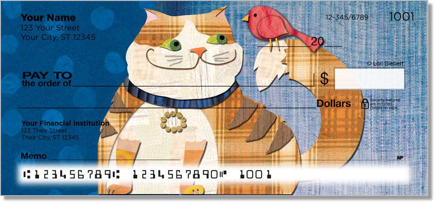 Fat Cat Personal Checks
