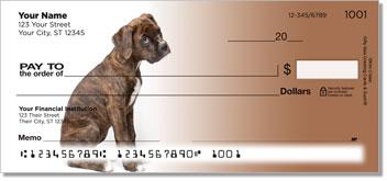 Boxer Pup Theme Checks