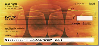 Bacca Wine Personalized Checks