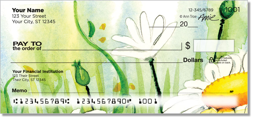 Daisy Field Personal Checks