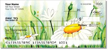 Daisy Field Personalized Checks