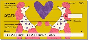 Primped Poodles Personalized Checks