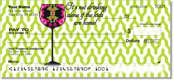 Go With the Flow Personalized Checks