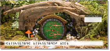 Fairy Home Personalized Checks