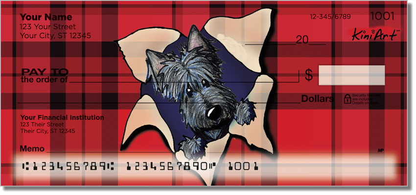 Scotties Series 2 Personal Checks