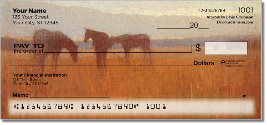 Pastoral Personal Checks