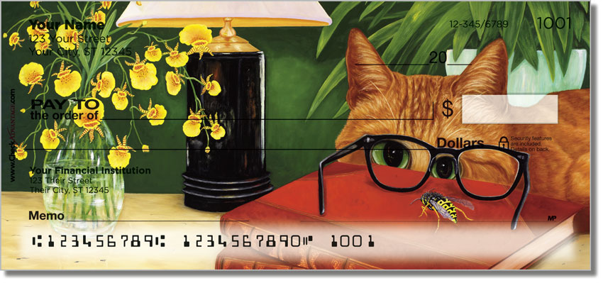 Tabbies and Torties Personal Checks
