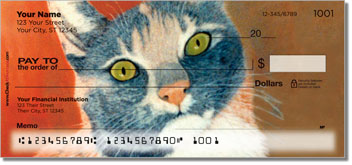 Tabbies and Torties Personalized Checks