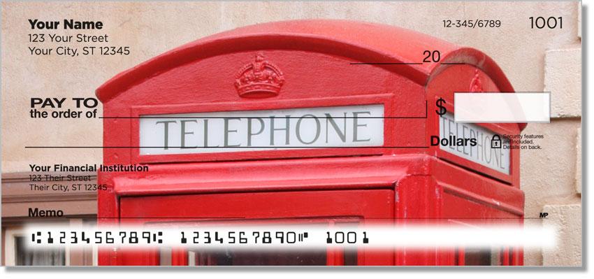 Vintage Phone Personal Checks