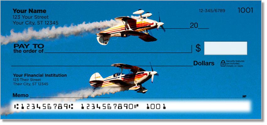 Aerobatic Air Show Personal Checks