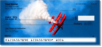 Aerobatic Air Show Personalized Checks