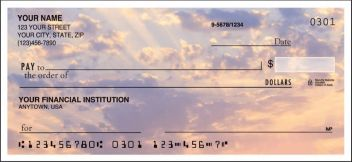 Natures Majesty Side Tear Personalized Checks